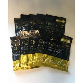 QUALITY FIRST - クオリティファースト オールインワンシートマスク  ザ・ベストEX 3枚×10