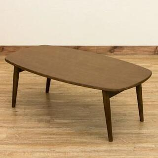 ローテーブル 折りたたみ シンプル おしゃれ ブラウン 北欧風(ローテーブル)