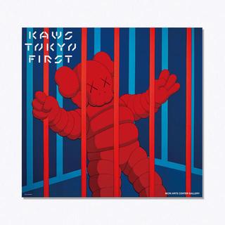 メディコムトイ(MEDICOM TOY)のKAWS TOKYO FIRST限定 ポスター 2枚セットカウズ 2 送料無料(印刷物)