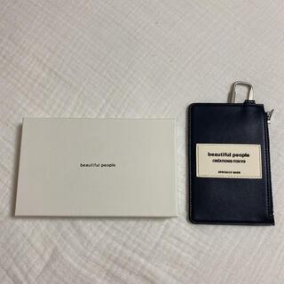 ビューティフルピープル(beautiful people)の限定品❕ beautiful people カードホルダー カードケース(パスケース/IDカードホルダー)