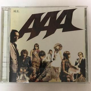 トリプルエー(AAA)の「ALL」アルバム ベスト AAA(ポップス/ロック(邦楽))