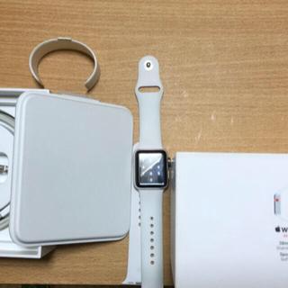 アップルウォッチ(Apple Watch)のapple watch 3 stainless steel sport band(腕時計(デジタル))