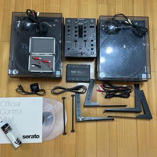 ★DJセット★SL-1200MK5、scratchlive SL3+オマケ数点(ターンテーブル)