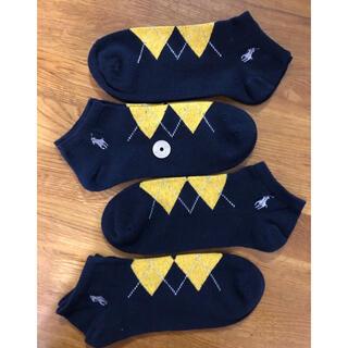 ラルフローレン(Ralph Lauren)の新品ポロラルフローレン メンズソックス 靴下 4足セット3301(ソックス)