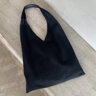 カスタネ(Kastane)のトライアングル ショルダーバッグ レディース トートバッグ ブラック モード 黒(ショルダーバッグ)
