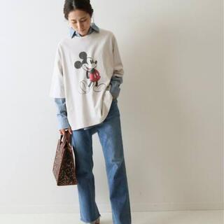フレームワーク(FRAMeWORK)の即完売品 FRAMeWORK 限定MICKEY BIG Tシャツ(Tシャツ(半袖/袖なし))