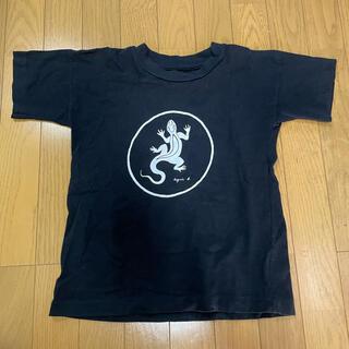 アニエスベー(agnes b.)のアニエスベーアンファン トカゲTシャツ(Tシャツ/カットソー)