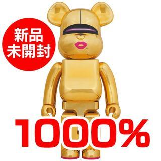 メディコムトイ(MEDICOM TOY)のBE@RBRICK SORAYAMA × 2G GOLD Ver.1000%(その他)