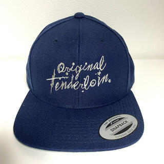 テンダーロイン(TENDERLOIN)のTENDERLOIN DLR CAP ネイビー トラッカーキャップ 美品 紙袋付(キャップ)