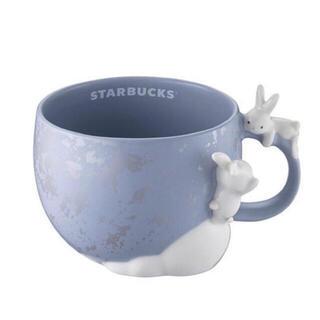 海外限定 完売 スターバックス 台湾 中秋節 うさぎ マグカップ(グラス/カップ)