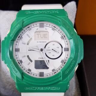 ジーショック(G-SHOCK)のG-shock グリーンカスタム 電池交換済み(腕時計(デジタル))
