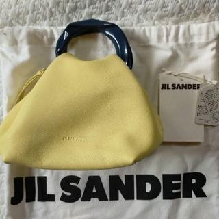 ジルサンダー(Jil Sander)のJIL SANDER スモールハンドバッグ ジルサンダー バッグ バック 中古品(ハンドバッグ)