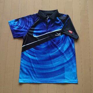 ヤサカ(Yasaka)の試着のみ。ヤサカ 卓球ウェア ゲームシャツ ユニフォーム 男女兼用 Mサイズ (卓球)