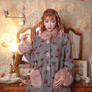 スワンキス(Swankiss)の新品❤️明日花キララ×スワンキス ウールコート (毛皮/ファーコート)
