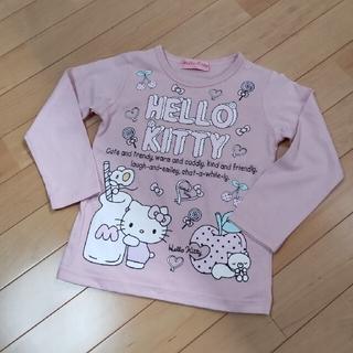 ハローキティ(ハローキティ)の【110サイズ】Tシャツ(Tシャツ/カットソー)