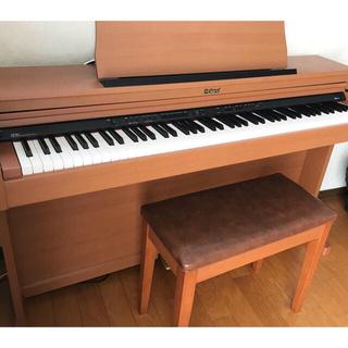ローランド(Roland)の美品 ローランド Roland  電子ピアノ HP203 椅子付き(電子ピアノ)
