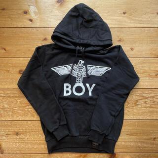ボーイロンドン(Boy London)のBOY LONDONロゴ 黒パーカー(パーカー)