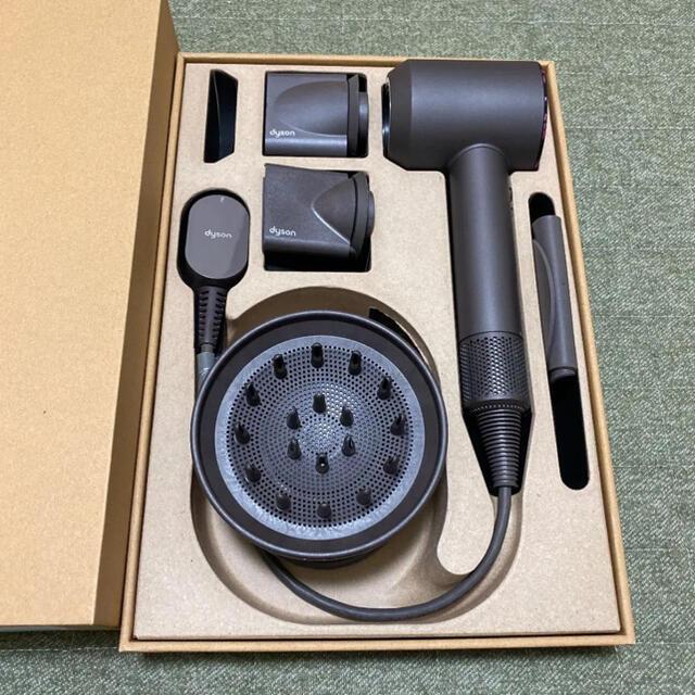 Dyson(ダイソン)のダイソン ドライヤー ほぼ未使用 スタンド付き スマホ/家電/カメラの美容/健康(ドライヤー)の商品写真