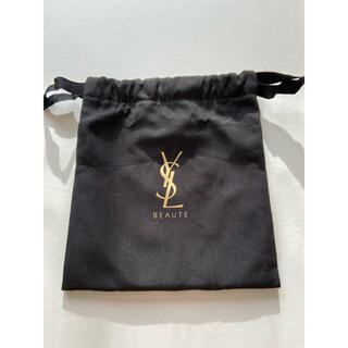 Yves Saint Laurent Beaute - YSL イヴ・サンローラン 巾着 コスメ 黒 ノベルティ