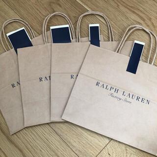 ラルフローレン(Ralph Lauren)のラルフローレン ☆ファクトリーストア☆ショップ袋☆5枚(ショップ袋)