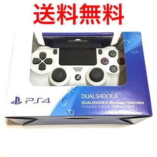 プレイステーション4(PlayStation4)のワイヤレスコントローラー DUALSHOCK4 グレイシャー・ホワイト 白(その他)