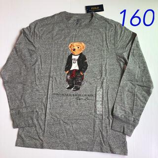 POLO RALPH LAUREN - ラルフローレン ポロベア コットンTシャツ 長袖 グレー  L/160
