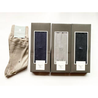 クリスチャンディオール(Christian Dior)の新品 ディオール ピエールバルマン メンズ 靴下 4足セット 紳士靴下(ソックス)