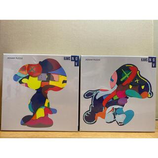 モマ(MOMA)の2点セット KAWS ×SNOOPY JIGSAW PUZZLE ジグソーパズル(その他)