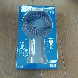 タカラジマシャ(宝島社)のColeman ミニ扇風機(扇風機)