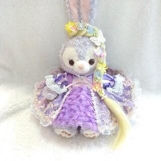 801.ステラルーコスチューム♡Sサイズ用♡紫お花刺繍ドレス