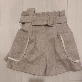 Lily Brown - リリーブラウン ベルト付きビックポケットパンツ