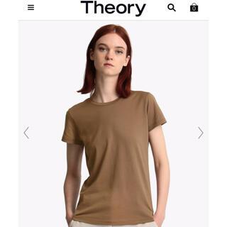 セオリー(theory)のセオリー Tシャツ ブラウン系 M(Tシャツ(半袖/袖なし))