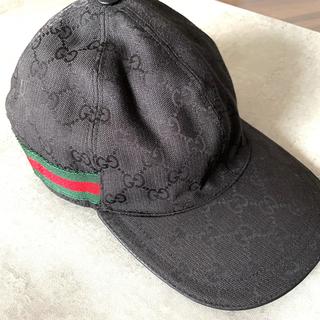 Gucci - GUCCI グッチ ベースボールキャップ 帽子 ロゴ