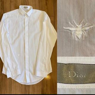ディオール(Dior)のDior ディオール 蜂 ピンストライプ 長袖シャツ ドレスシャツ  37(シャツ)