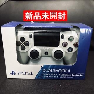 PlayStation4 - 【新品未開封】ps4 ワイヤレスコントローラー 純正 ホワイト