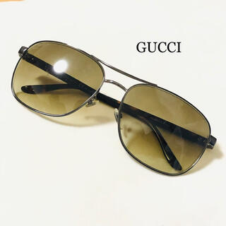 Gucci - GUCCI グッチ サングラス カーキーブラウン シルバー
