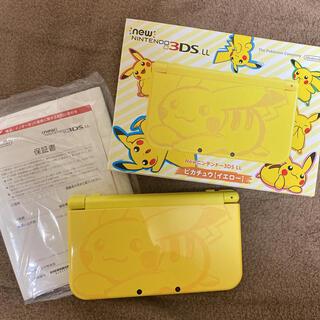 ニンテンドー3DS(ニンテンドー3DS)のピカチュウ♡限定3DSLL(家庭用ゲーム機本体)