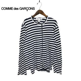 コムデギャルソン(COMME des GARCONS)の【COMMEdesGARCONS】異素材ドッキング 変形カットソー(Tシャツ/カットソー(七分/長袖))