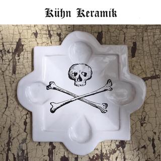 アッシュペーフランス(H.P.FRANCE)のクーンケラミック  陶器  トレイ  未使用  プレート(食器)