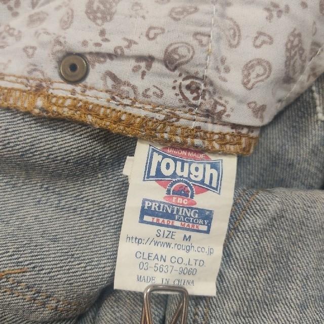 rough(ラフ)のrough  デニムショートパンツ レディースのパンツ(ショートパンツ)の商品写真