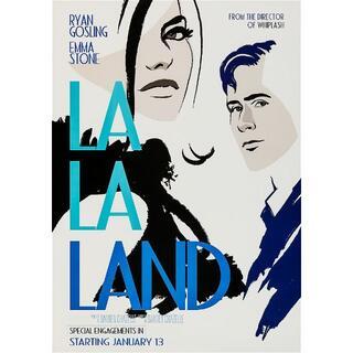 海外版ポスター『ラ・ラ・ランド』(La La Land)IMAX style(印刷物)