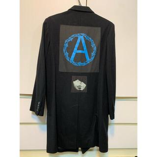 シュプリーム(Supreme)のSupreme UNDERCOVER Wool Overcoat S Black(チェスターコート)