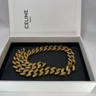 セリーヌ(celine)の新品未使用 CELINE ヴィンテージ ネックレスゴールド(ネックレス)