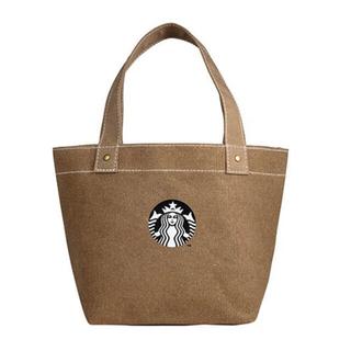 スターバックスコーヒー(Starbucks Coffee)の台湾 スタバ スターバックス サイレンロゴ トートバッグ ベージュ(トートバッグ)