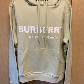 バーバリー(BURBERRY)の正規未使用 20SS BURBERRY バーバリー ロゴ パーカー(パーカー)