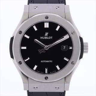 ウブロ(HUBLOT)のウブロ クラシックフュージョン Ti×ラバー   メンズ 腕時計(腕時計(アナログ))