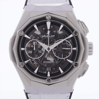 ウブロ(HUBLOT)のウブロ アエロフュージョン クロノグラフ オーリンスキー TI×革×ラバー(腕時計(アナログ))