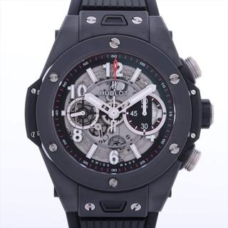ウブロ(HUBLOT)のウブロ ビッグバン ウニコ ブラックマジック Ti×ラバー   メンズ 腕(腕時計(アナログ))