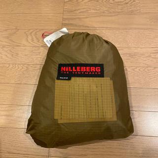 ヒルバーグ(HILLEBERG)のヒルバーグ タープ 20XP サンドカラー 新品未使用品(テント/タープ)