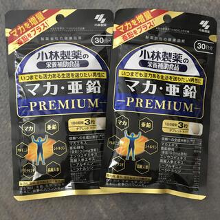コバヤシセイヤク(小林製薬)の小林製薬 マカ・亜鉛  PREMIUM 約30日分  2袋(その他)